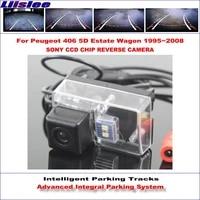 car backup rear reverse for peugeot 406 5d estate wagon 19952008 hd vehicle intelligent parking camera dynamic tracks