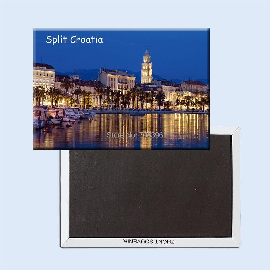 Сплит-хорватский магнит на холодильник, сувенирный 20982