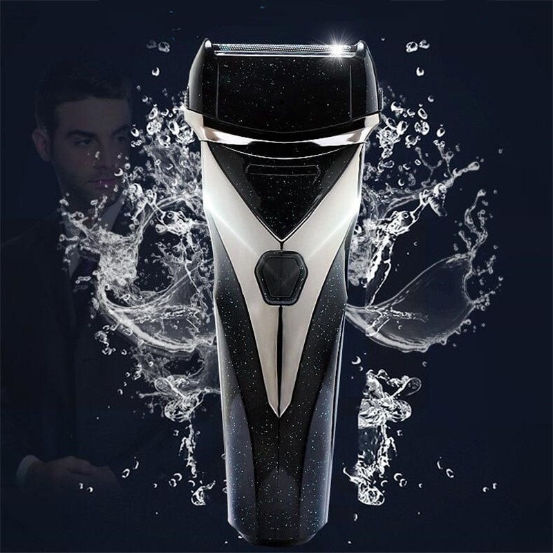 Washable Electric Shaver Razor Man Beard Shave Rechargeable Rasoir Mustache Groomer Clipper Sideburns Trimmer Face Haircutter enlarge