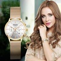 2018 Top Brand Women's Watches Fashion Stainless Steel Mesh Strap Wrist Watch Women Watches Ladies Watch Clock Mujer Feminino