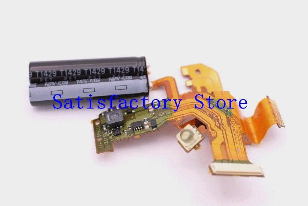 Para Sony HX50 HX50V DSC-HX50V DSC-HX50 DSC-HX60V DSC-HX60 cubierta superior de Control de Flash de pieza de reparación de cable Flex
