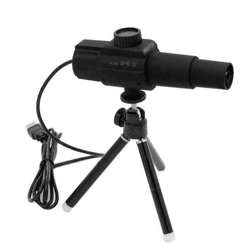 FUNN-W110 Digital inteligente USB 2MP microscopio Cámara telescopio con detección de movimiento Monitor de punto fotografía vídeo