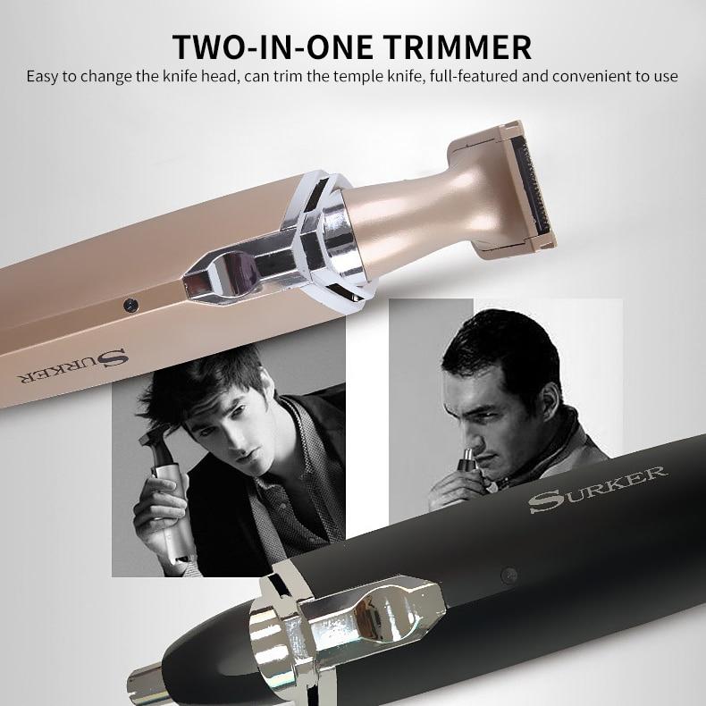 Afeitadora eléctrica 2In1 de alta calidad para oreja, afeitadora para hombres, herramientas de depilación, afeitadora, maquinilla de afeitar, máquina de limpieza de barba