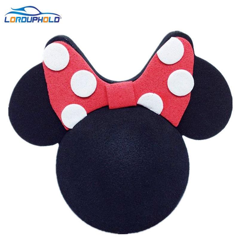 Bolas de antena de Mickey marca lorduphod para decoración de coches aéreos dibujo animado adorable y divertido coche de bola de espuma encantador Exterior FPV Topper nuevo