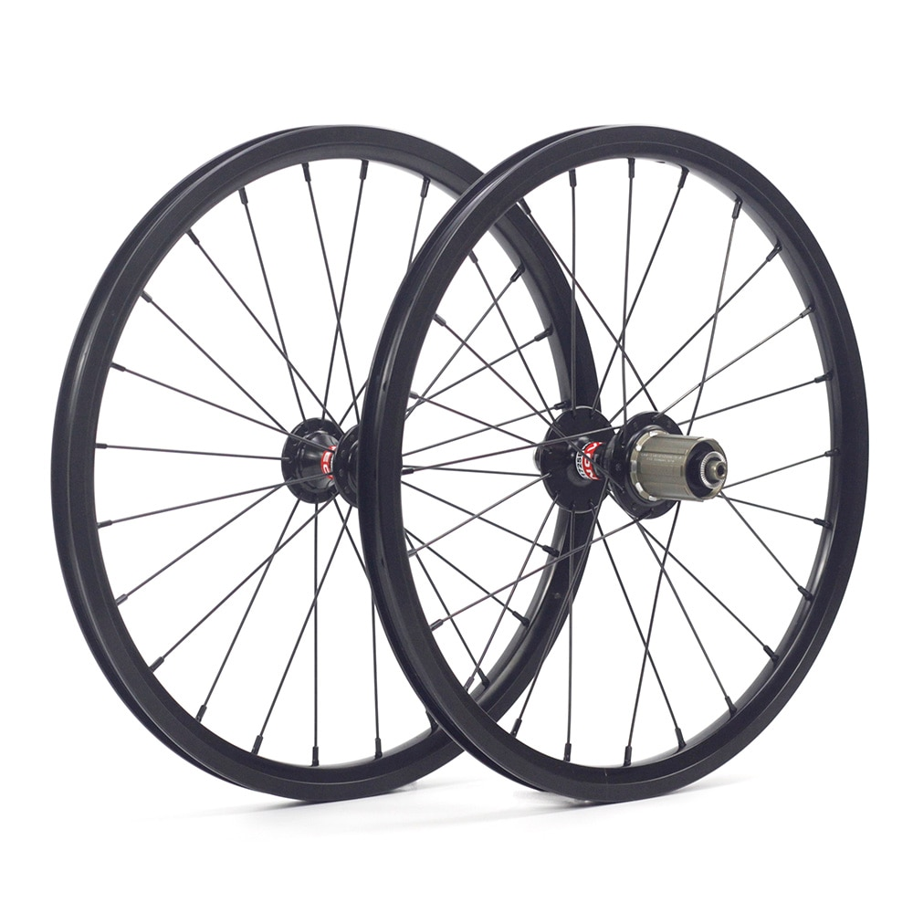 "Silverock Legierung Räder 16 ""1 3/8"" 349 V Rand Bremse 24H 8-11s 74mm 130m für FNHON GUST Faltrad Urban Klammer Fahrrad Räder"
