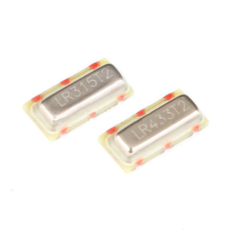 شحن مجاني 100 قطعة/الوحدة عالية الجودة LR315T2 315MHZ كريستال المذبذب المنشار الرنانون الأصلي