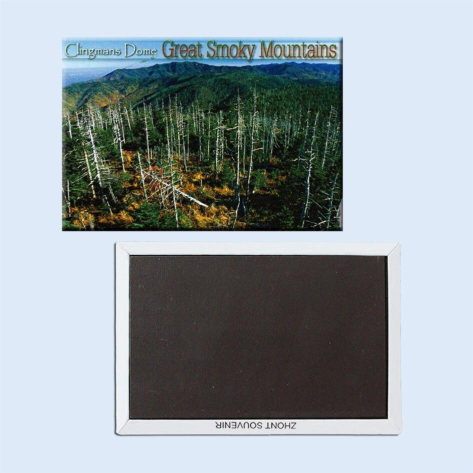 Ímãs 21542 do cartão postal da abóbada de clingmans grandes montanhas smoky