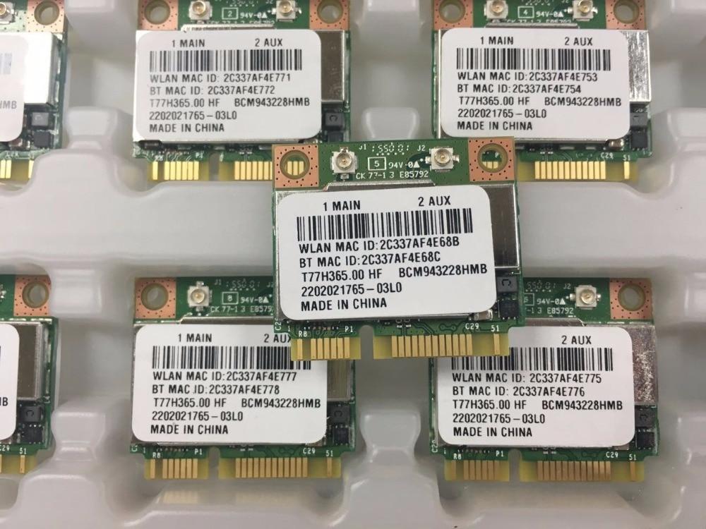 Broadcom BCM943228HMB Foxconn T77H365.00 HF 300M 802,11 a/b/g/n + Bluetooth 4,0 для asus acer sony