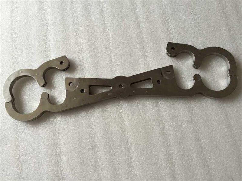 BEEGER-خلخال من الفولاذ المقاوم للصدأ ، خلخال ثقيل للغاية مع سلاسل ، منتجات ألعاب جنسية