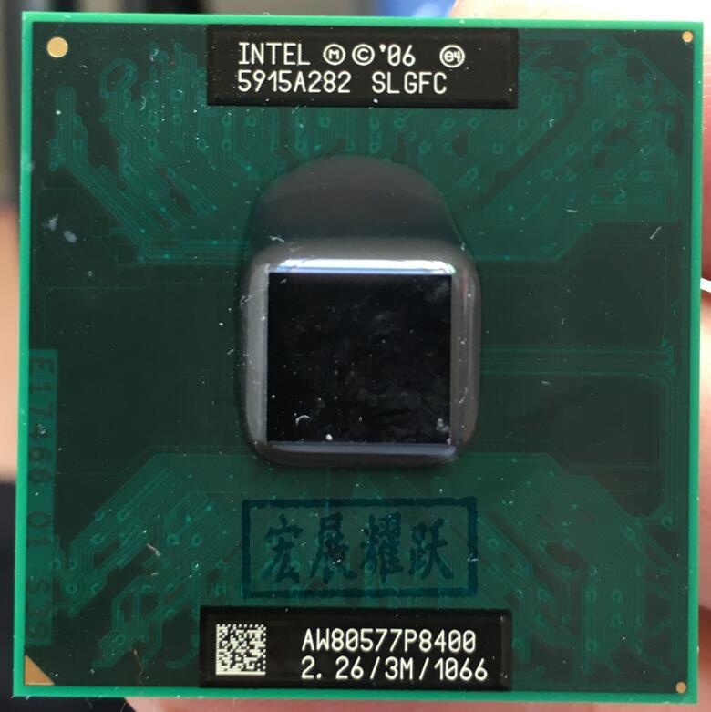 [해외] 인텔 코어 2 듀오 P8400 CPU 노트북 프로세서, PGA 478 cpu 100% 제대로 작동