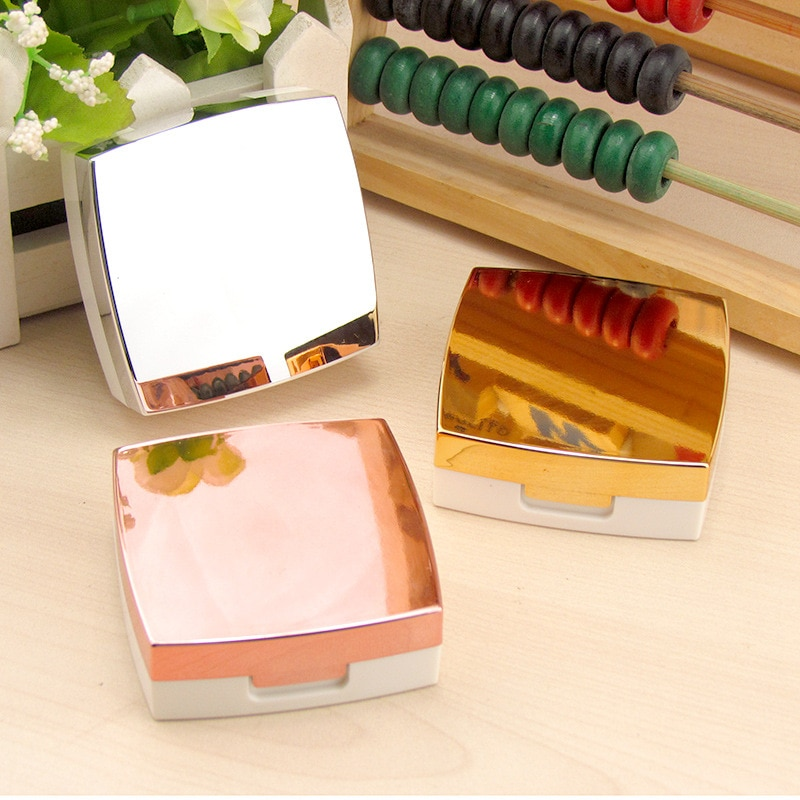 10 pièces/lot nouvelle haute qualité belle avec miroir pratique pour transporter étui à lentilles de Contact belle trousse de voyage boîte femmes partenaire boîte