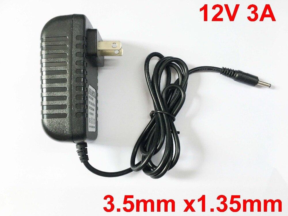 1PCS12V 3ATablet cargador de batería para cubo i7 i9 Mix Plus aeroespacial I7 Stylus Voyo VBook V3 forOnda V919 3G Core M Jersey Ezbook 2 S4