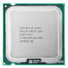 4 cœurs INTEL core 2 QUAD Q6600 Socket LGA 775 processeur CPU 2.4 Ghz/8 M/1066 MHz)
