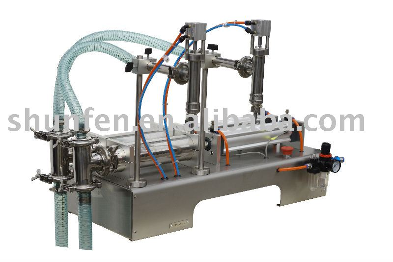 (Бесплатная доставка) полуавтоматическая машина для наполнения жидкостей с