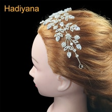 Tiaras And Crowns HADIYANA New Vintage Luxury Headpieces Temperament For Girls Fashion Women Leaf Headpiece BC4412 Sombreros