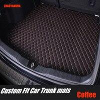 ZHAOYANHUA Car trunk mats for BMW F10 F11 F15 F16 F20 F25 F30 F34 E60 E70 E90 1 3 4 5 7 Series GT X1 X3 X4 X5 X6 Z4 5D car-styl