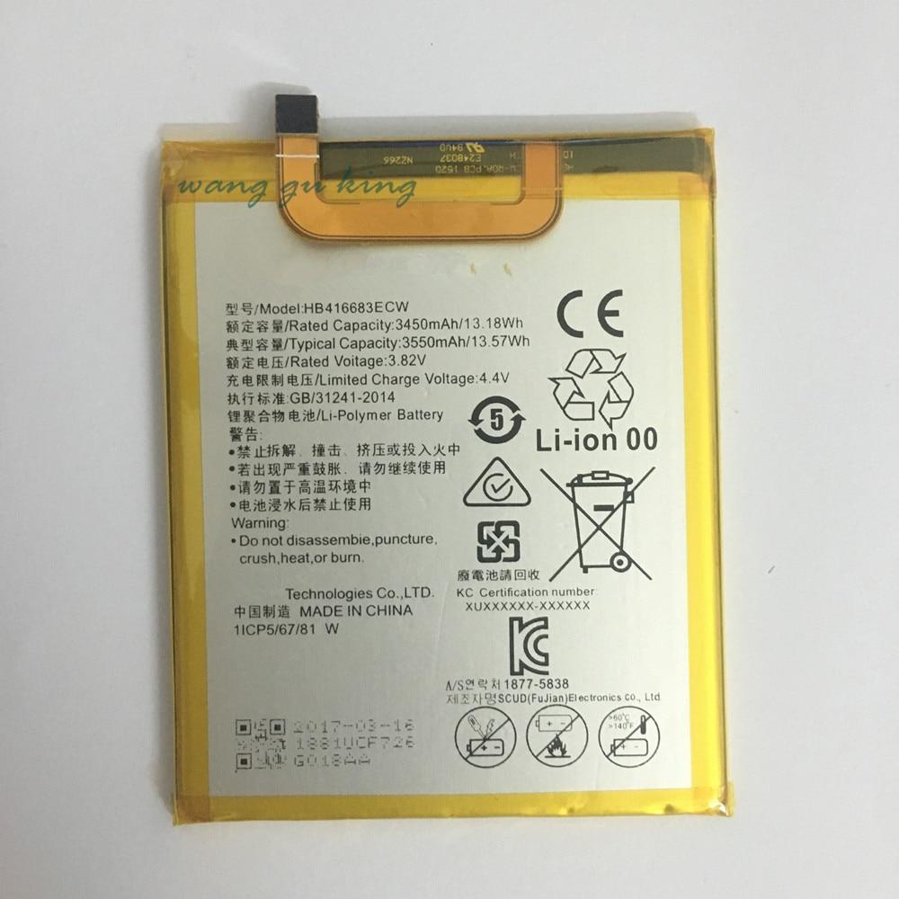 100% Original copia de seguridad nueva HB416683ECW batería 3550 mAh para Huawei Google Ascend Nexus 6 P H1511 H1512 batería en stock con la pista