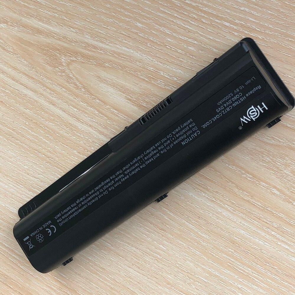 Купить с кэшбэком Laptop battery for HP HSTNN-LB72 HSTNN-LB73 HSTNN-UB72 DV4 DV5 DV6 G71 G50 G60 G61 G70 DV5T