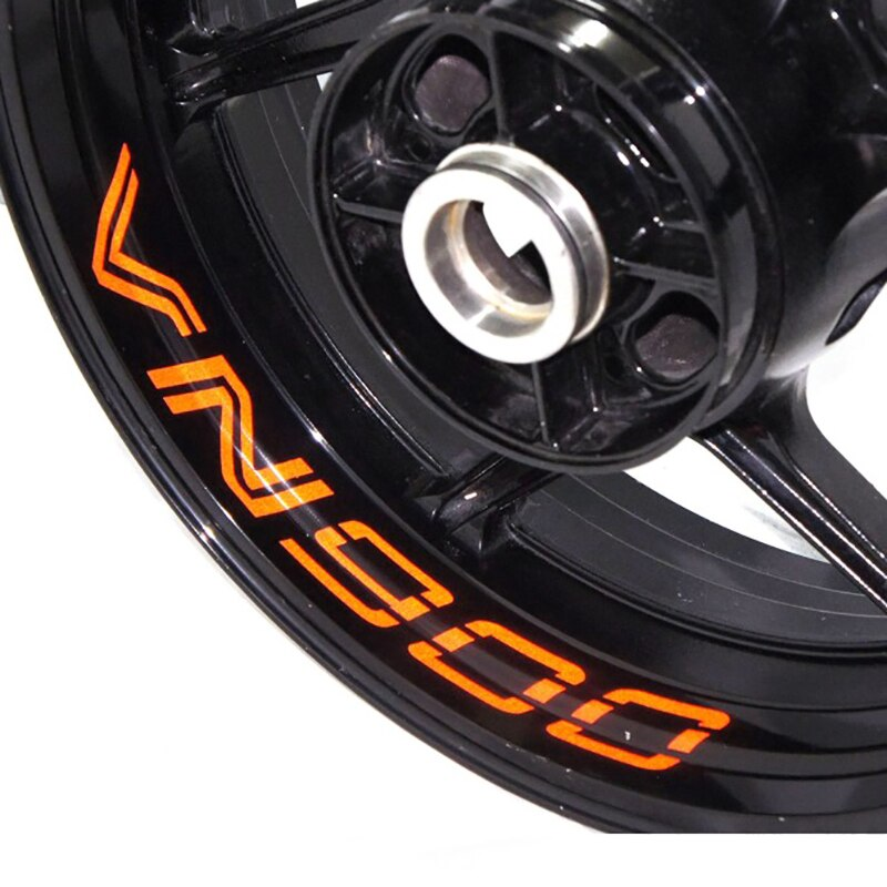 Adhesivo para rueda de motocicleta, pegatina reflectante para bicicleta de borde, motocicleta adecuada para KAWASAKI Vulcan 900 VN900 VN 900