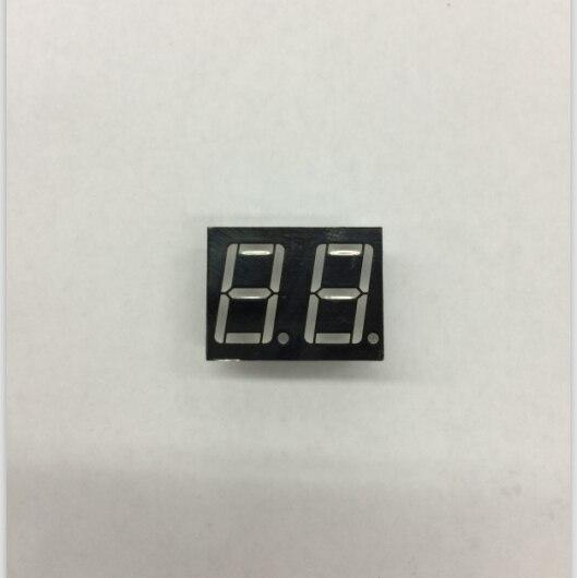 0.56 polegadas 2 dígitos 7 segmentos led vermelho exibir 10pin 5261AS/5261BS display 7 display ledled display 7 segment -