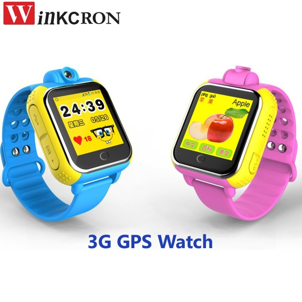Reloj rastreador GPS 3G para niños rastreador gps con pulsera para teléfono móvil inteligente Anti pérdida SOS de emergencia