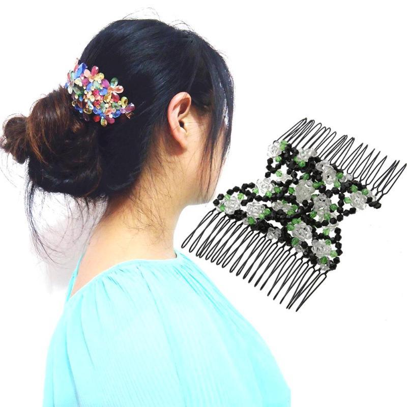 Peines de Metal con Clip para el pelo para mujer, horquillas Vintage...