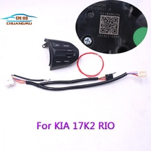 Chuangmu Stuurwiel Knop Voor KIA K2 RIO 2017 2018 RIO X LIJN Knoppen Bluetooth Telefoon Cruise Control Volume96720-H8010