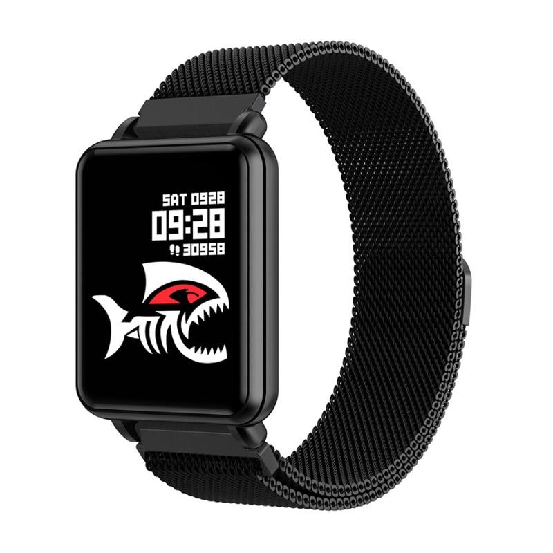 COLMI Land 1 Full touch screen Smart watch Sport fitness tracker IP68 wasserdichte Bluetooth Männer Smartwatch Für Android IOS Telefon