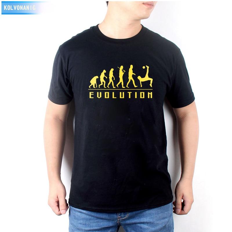 Vestidos nuevos verano 2019 evolución futbolista bicicleta kick impreso Camiseta de manga corta Camisetas cuello redondo masculinas ropa de hombre BE-72