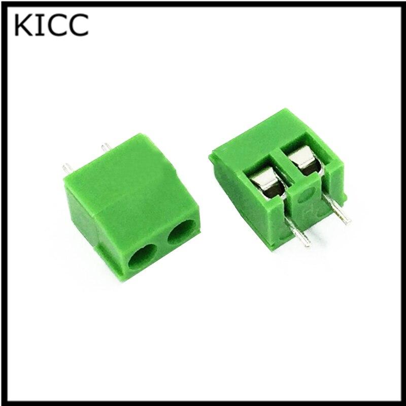 KF350 2 P terminal de conexión MG350 2Pin conector de 3,5mm 10 piezas