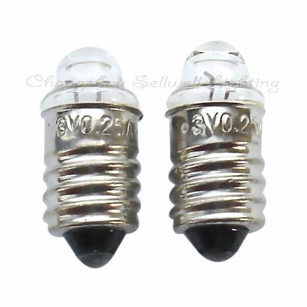 E10x22 3v 0.25a New!miniature Lighting Bulbs A013