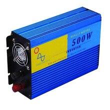 car styling Voltage Transformer 500W DC 12V to AC 220V Pure Sine Wave Power supply Switch Car Inverter Converter