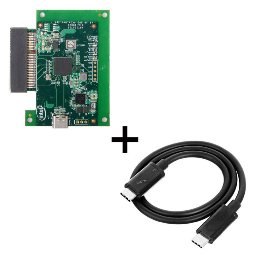 Кабель для конвертации карт типа C Thunderbot 3 в PCI Express PCI-E SSD Nvme NGFF M-key