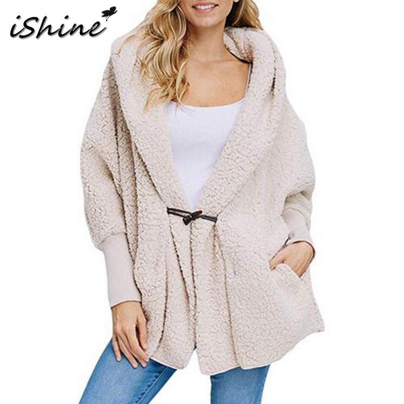 ISHINE куртка женская осенняя и зимняя с длинным рукавом Женская карманная Пряжка