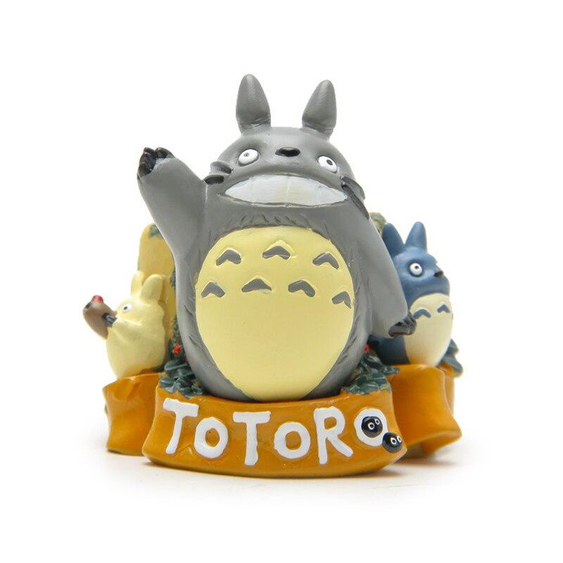 1pcs New  My Neighbor Totoro Resin Action Figure Model Toys Diy Totoro Flower Pot for Garden ation