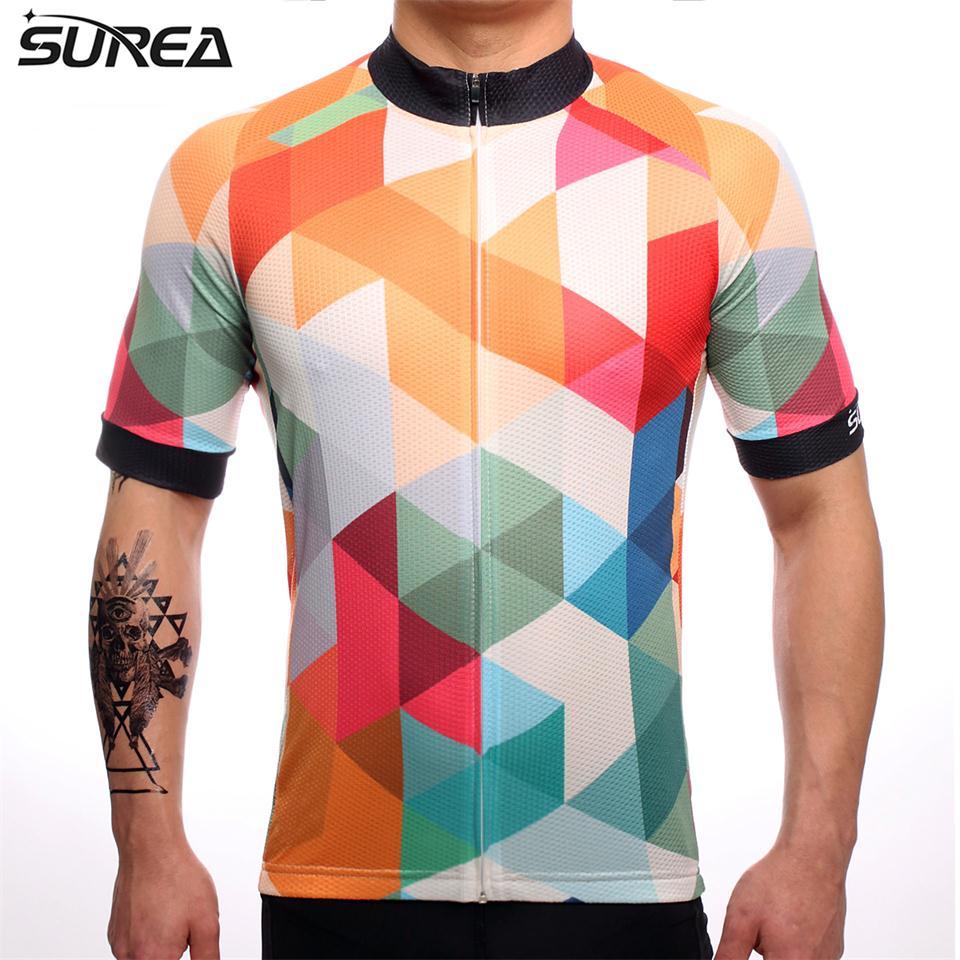 Pro Team-Camiseta De Ciclismo para hombre, Maillot De manga corta para bicicleta...