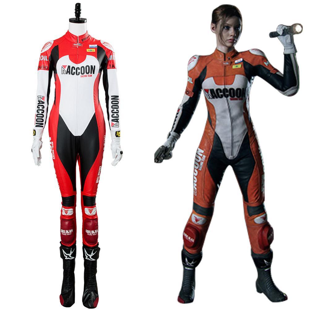 Disfraz de Cosplay para Resident 2, Cosplay de clara Redfield, disfraz de Elza Walker DLC, disfraz de Cosplay para fiesta de Halloween