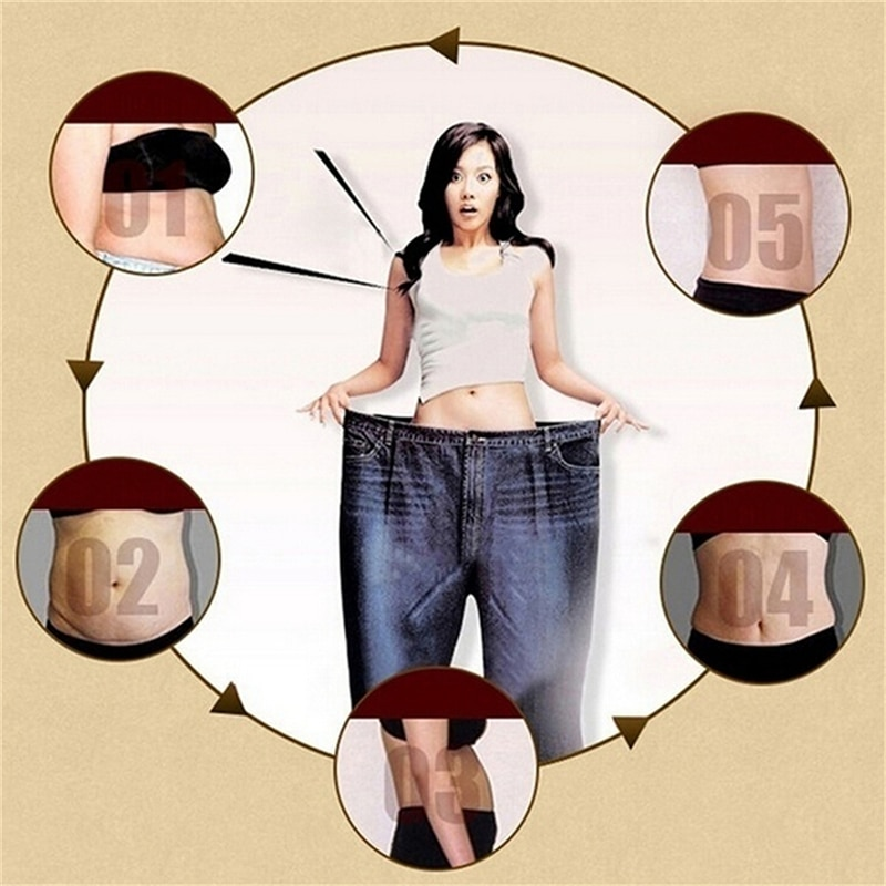 New Slimming Navel Sticker Slimming Patch Lose Weight Burning Fat Slimming Health Care White Slim Patch Accessory