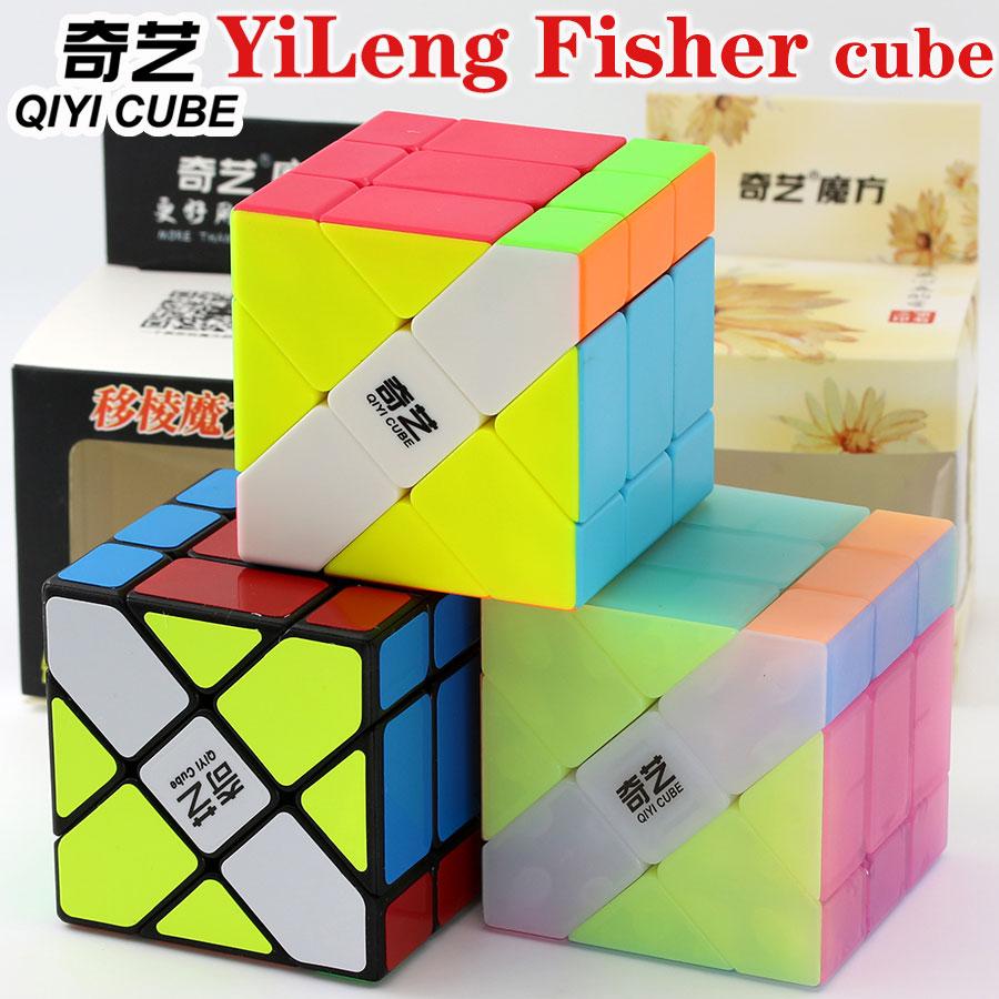 cubo magico qiyi xmd yileng fisher formato estranho cubo de velocidade profissional
