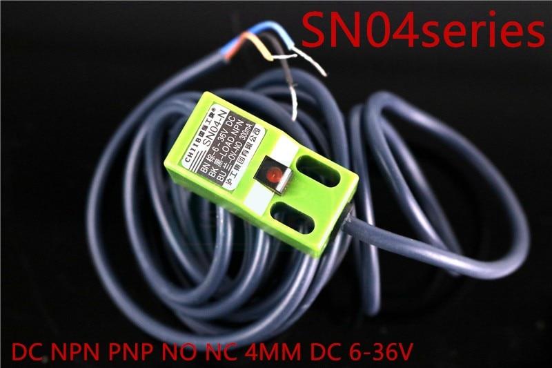 SN04-N SN04-N2 SN04-P DC NPN PNP NO NC 4 мм DC 6-36 в индуктивный датчик приближения SN04