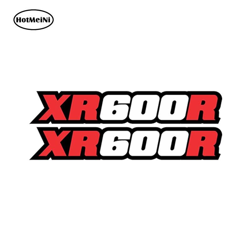 HotMeiNi estilo de coche Xr600r calcomanías gráficas basculante de moto de cross Mx Xr600 Xr 600 600r impermeable accesorios 13cm x 2,5 cm