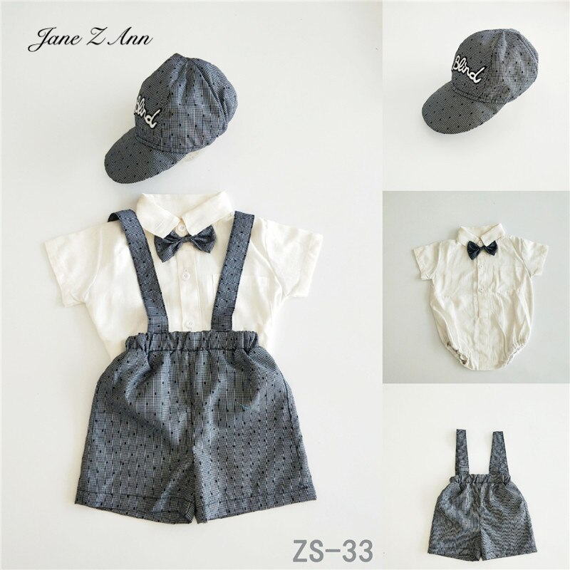 Jane Z Ann Children photo clothing 2019 new 1-year-old baby studio shooting outfits infant  boy  gentlemen girl princess dress