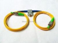 Mechanical Variable Adustable Optical Singlemode 1260-1650nm FC/APC Fiber Attenuator 0-60dB VOA