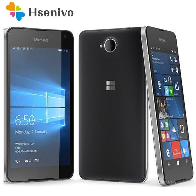 Nokia lumia 650 reformado-Original Lumia 650 Quad-core 16GB ROM 1GB RAM teléfono...