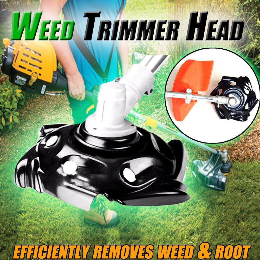 Manganese Steel Razor Mower Grass Trimmer Head Cutter Blade For Garden Lawn Machine Accessories Power Tools Easy Cut #T