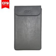 Nouvelle Dorigine Protection En Cuir Cas Sac pour GPD Poche 2 7 pouce Windows Système 10 UMPC Mini-Ordinateur Portable (Noir)