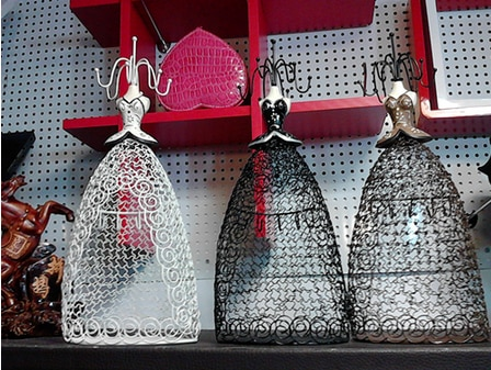 2014 nuevo Sexy maniquí elegante vestido joyería pendiente collar soporte exhibidor hecho a mano