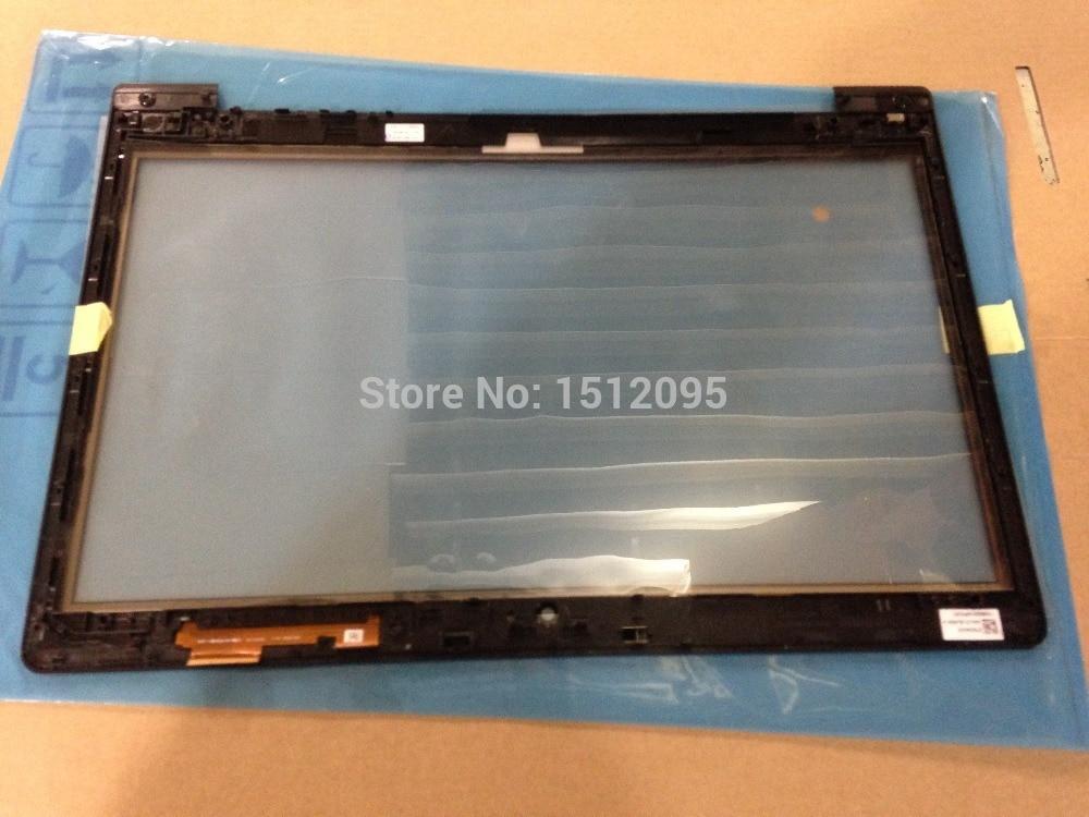Para ASUS VivoBook S400 S400CA Panel táctil digitalizador Sensor de lente de vidrio con marco