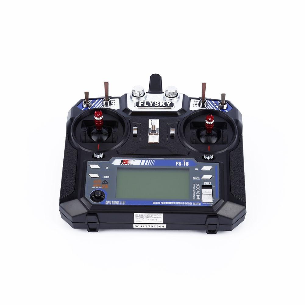 Nuevo FlySky-i6 2,4G 6CH AFHDS RC transmisor con-iA6 receptor para avión Heli UAV multicóptero Drone