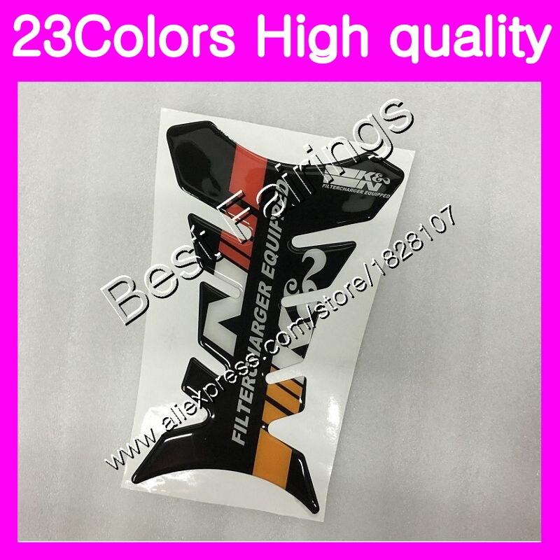 3D de fibra de carbono Protector para almohadilla de depósito para KAWASAKI NINJA ZZR400 93 94 95 96 ZZR 400 ZZR 600 ZZR600 97 98 99 00 GP pegatina para depósito de combustible